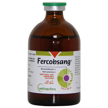 Vetoquinol Fercobsang 100ml For Cats&Dogs